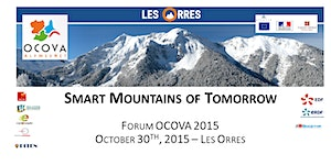 OCOVA 2015 - Smart Mountains of tomorrow