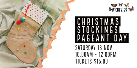 Christmas Stockings Workshop   Padgent day    Cafe 34 tickets