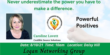 Logan Networking Group - Powerful Positives tickets