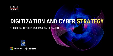 Cyber Tech & Risk - Digitization and Cyber Strategy tickets
