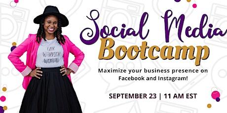 Social Media Bootcamp Workshop tickets