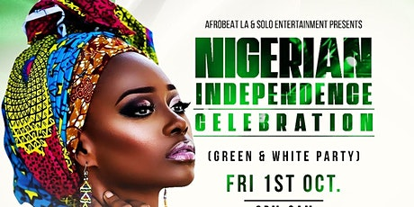 LOS ANGELES  Official Nigerian Independence Celebration tickets