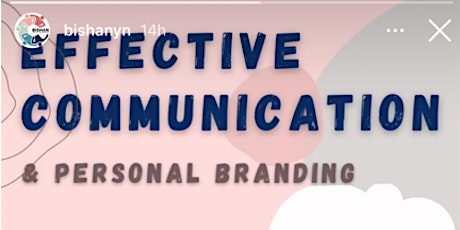 Effective Communications: Personal Branding tickets