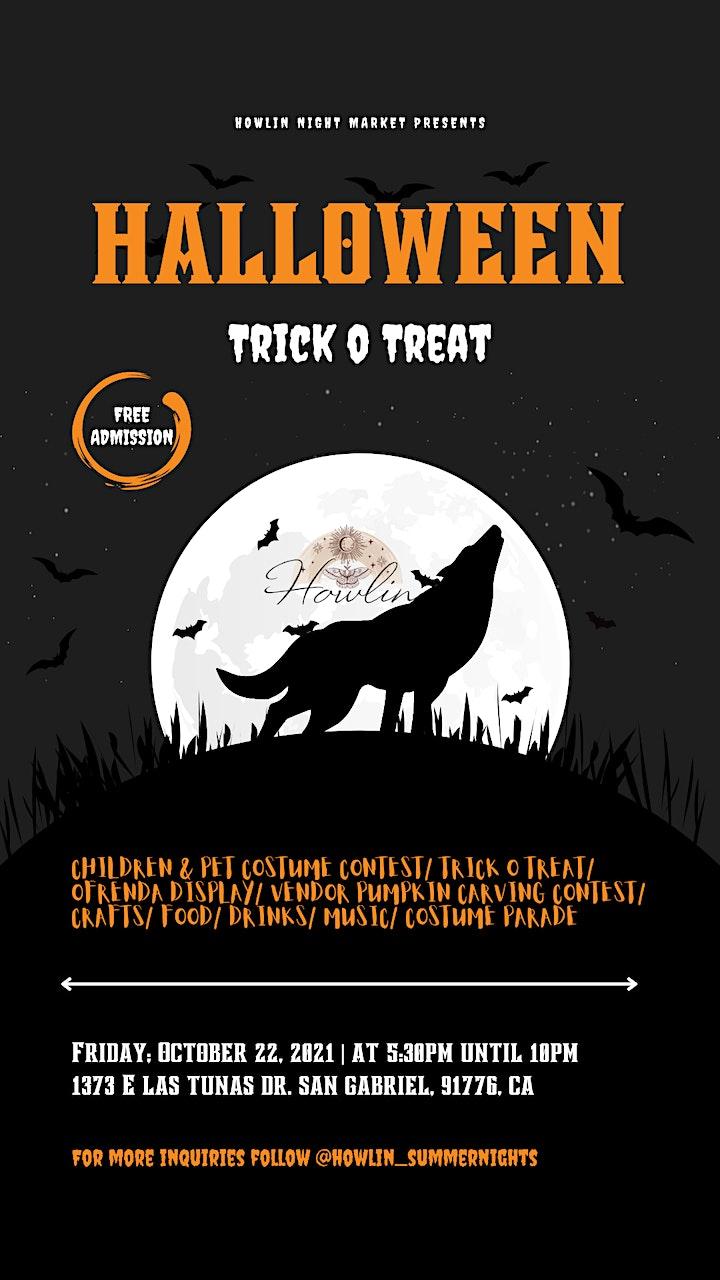 Howlin Halloween Night Market image