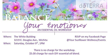 Balance Your Emotions, an Essential Oil Workshop tickets