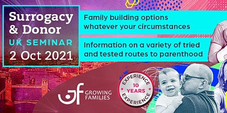 Growing Families Uk Seminar Oct 2021 tickets