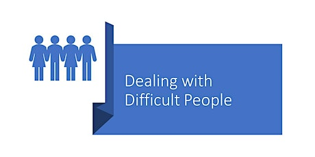 Dealing with Difficult People - Online - N Seattle College tickets