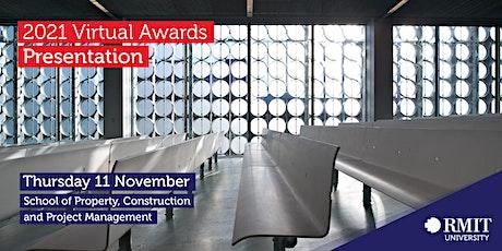 RMIT PCPM - 2021 Virtual Awards Presentation tickets