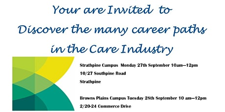 Work In the Care Industry Morning Tea tickets