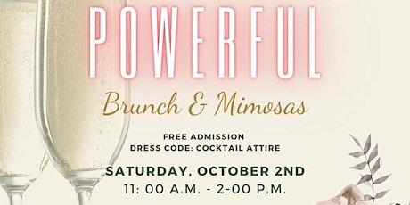 POWERFUL Brunch & Mimosas tickets