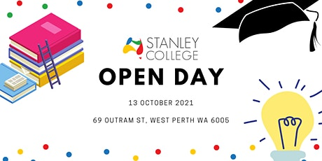 Stanley College Open Day 2021 tickets