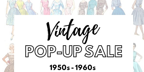 Vintage Clothing Pop-Up Sale tickets