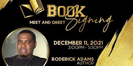 Roderick Adams Book Signing and Meet & Greet tickets