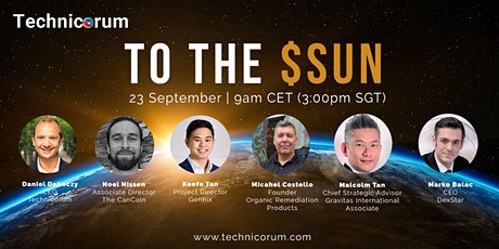 To The $SUN: Probably the only crypto investor event you should attend tickets
