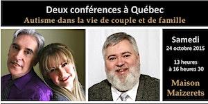 Double conférence - Marie-Josée Cordeau / Stephan...