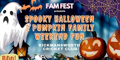 Spooky Halloween & Pumpkin Patch Family Weekend Rickmansworth SATURDAY tickets
