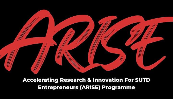 SUTD ARISE Program Demo Day (Virtual) on 3 Dec 2021 image