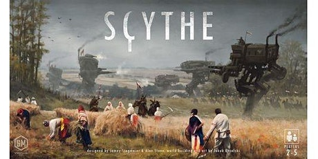 Epic Game Day 18 - Scythe tickets