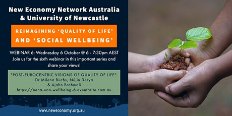 Re-imagining 'Quality of Life' and 'Social Wellbeing' in Australia tickets