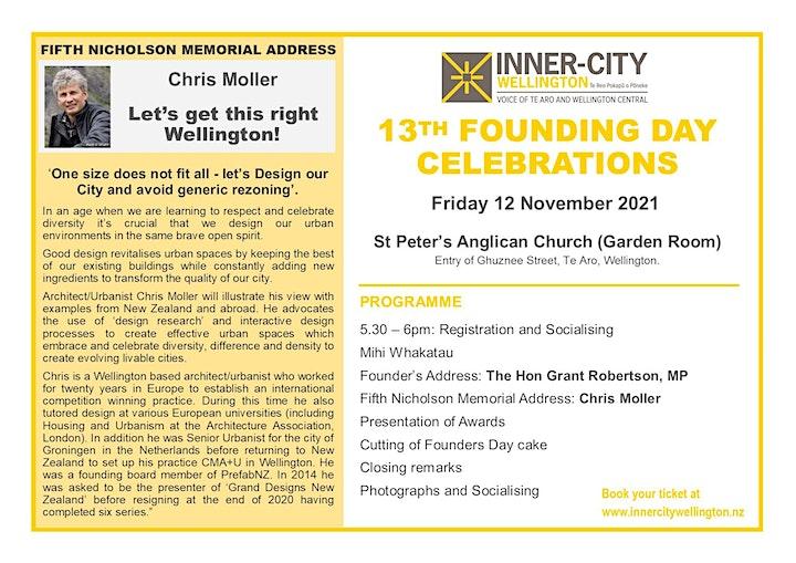 Inner City Wellington 13th Founding Day Celebrations image