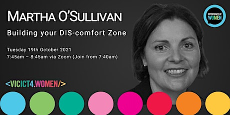 Importance of Women in IT - Building your DIS-Comfort Zone tickets