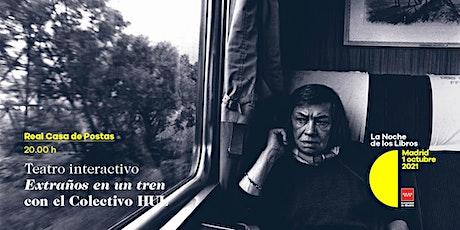 Extraños en un tren. Teatro interactivo entradas