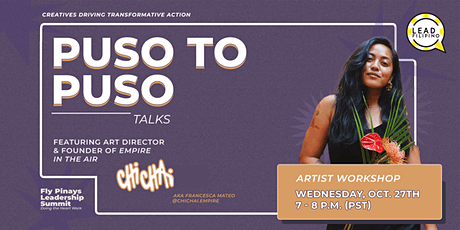 Puso to Puso: Creatives Driving Transformative Action tickets