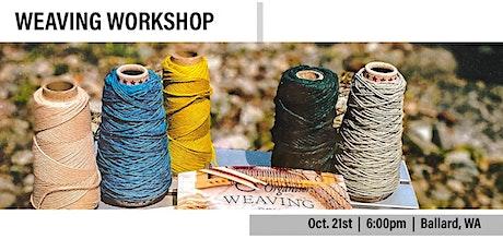 Fall Weaving Craft Class tickets