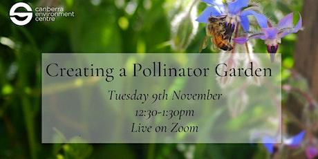 Creating a Pollinator Garden tickets