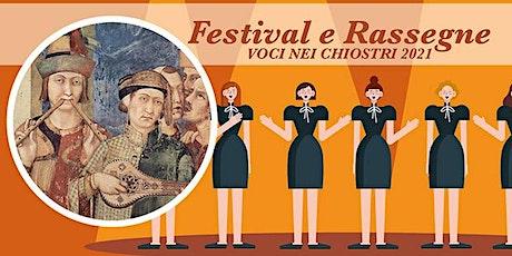 Voce nei Chiostri 2021 - Parma 3 ottobre - CGER biglietti