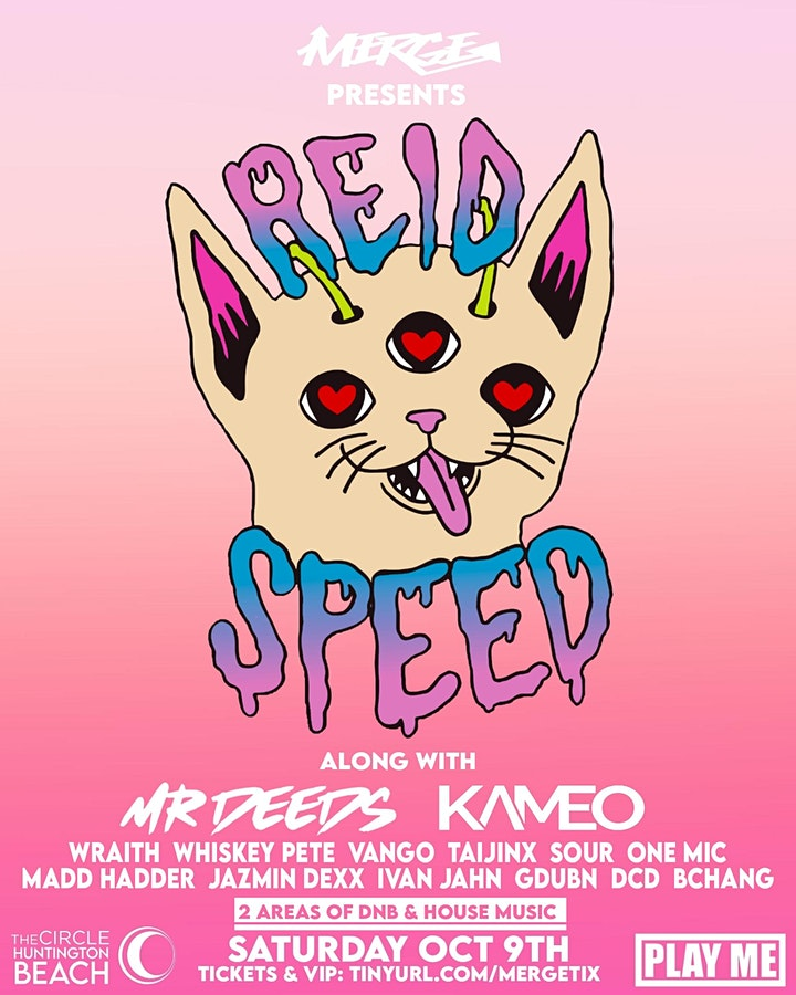 REID SPEED (2 rooms of Drum & Bass/House Music) image