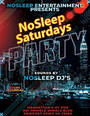 NoSleep Saturdays Party tickets