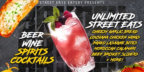 Street Eats Epic Bottomless Brunch tickets