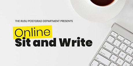 Postgrad Department: Online Sit & Write - 29th September tickets
