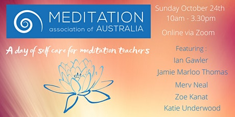 A Day of Self Care for Meditation Teachers tickets