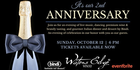 Waters Edge Winery of Long Beach 2nd Anniversary Celebration tickets