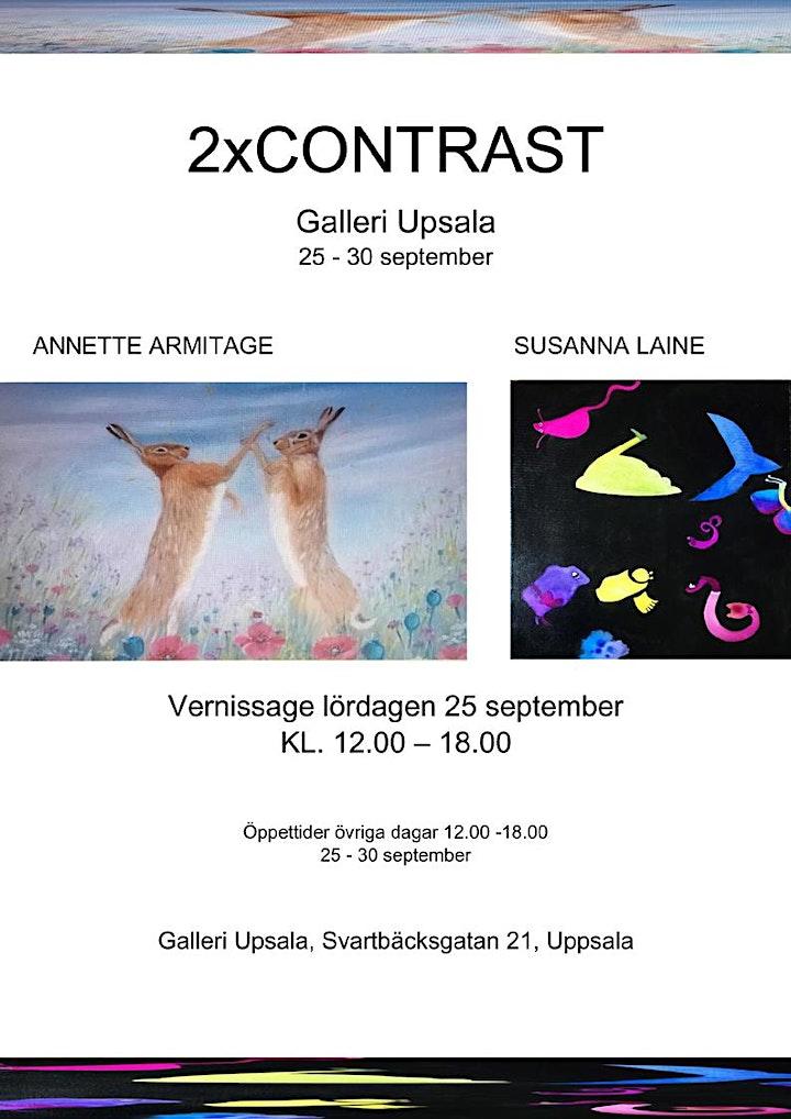 2 x  CONSTRAST - Susanna Laine o Annette Armitage bild