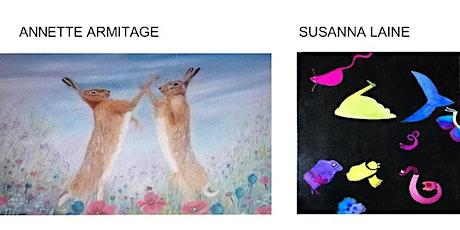 2 x  CONSTRAST - Susanna Laine o Annette Armitage biljetter
