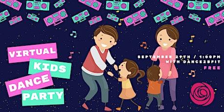 Virtual Kids Disco Dance Party tickets