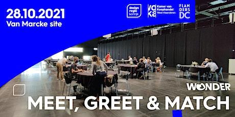 Meet Greet Match netwerkevent tickets