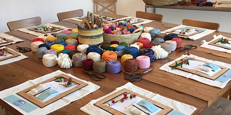 WORKSHOP | Intro to Loom Weaving with Lisa Guy tickets