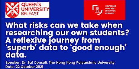 What risks can we take when researching our own students? tickets