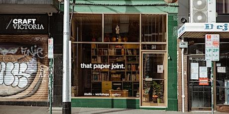 Joining People through Paper | Craft Victoria Artist Talk tickets
