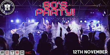 RETRO Inc. 80s Party Night tickets