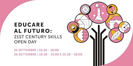 Open Day FEM - Offerta didattica a.s. 21-22 - Sessione Sabato pomeriggio biglietti