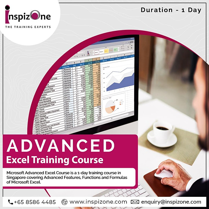 Learn Skill Future Approved Advanced Excel Course at Inspizone Trainings image