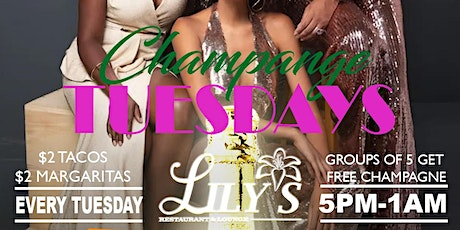 Champagne Tuesdays tickets