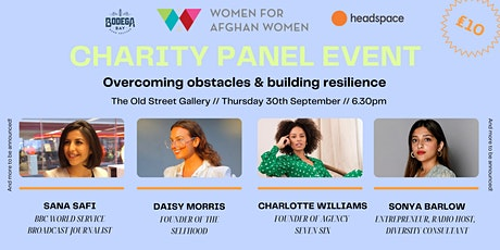 Start Fail Repeat LIVE panel - Overcoming obstacles & building resilience tickets
