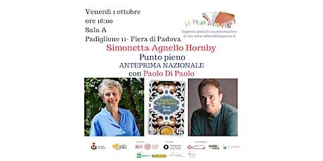 """Simonetta Agnello Hornby  """"Piano nobile"""" con Paolo Di Paolo biglietti"""