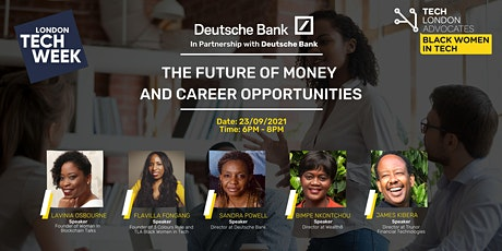 The Future of Money and Career Opportunities tickets